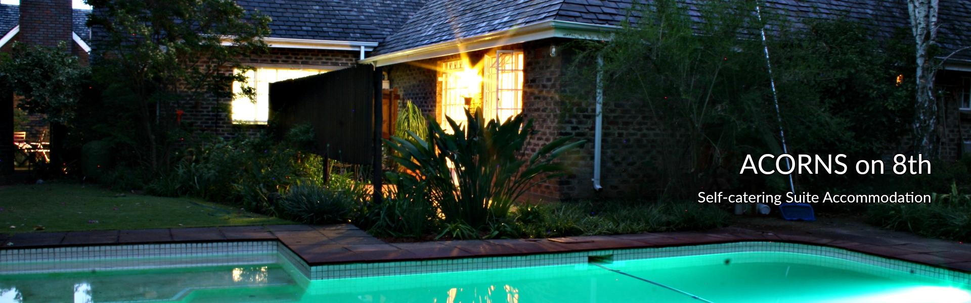 Acorns on 8th self-catering accommodation in Johannesburg