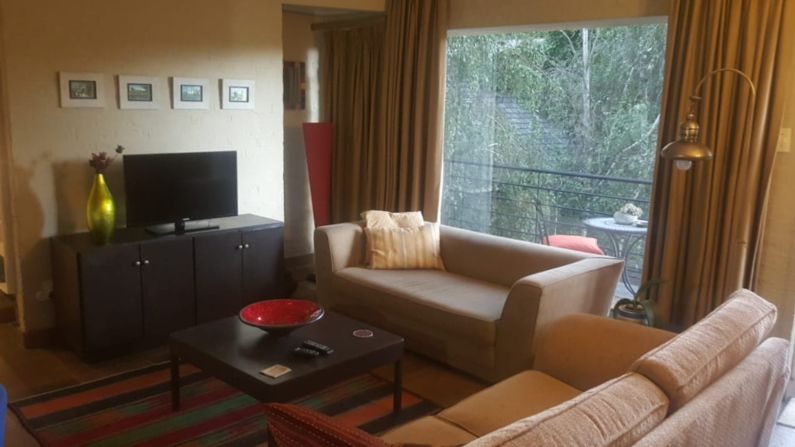 Bright and light apartment lounge in self-catering accommodation near Rosebank | Acorns on 8th