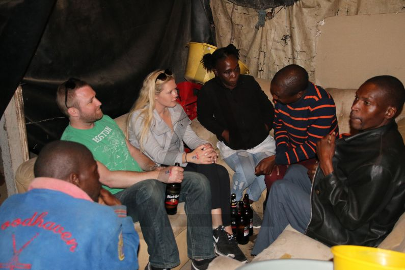 Shebeen in Soweto