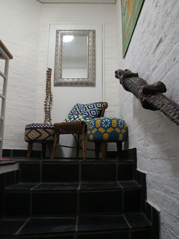Self-catering accommodation in Parktown North is an eclectic mix of colour and texture | Acorns on 8th